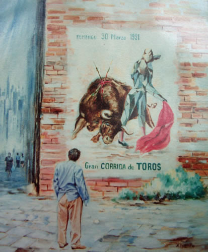 The Poster of the Last Bullfight