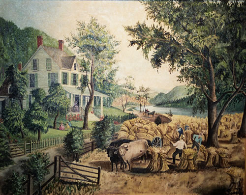 Early American Farm